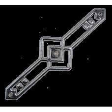 МР1301 Пласт.декоративная накладка для мебели  Л