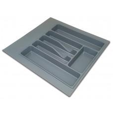 Лоток для столовых приборов 300-350 серый   А