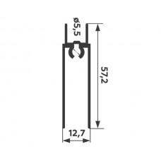 Горизонт нижний Серебро хим. полировка 5,9 м  1,2мм   PREMIAL