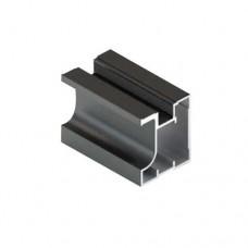 Вертикальный профиль Fusion, черный матовый 1,2мм  5,35м  Аристо   Т