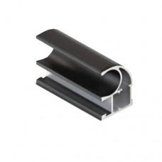 Вертикальный профиль С, черный матовый 1,2мм 5,35м  Аристо Т