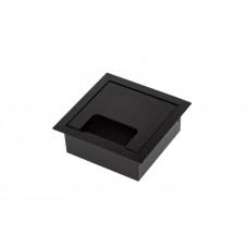 Кабель-канал квадратный 80х80 черный